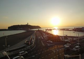 江ノ島夕景小