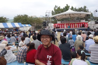 ぶどう祭りステージ