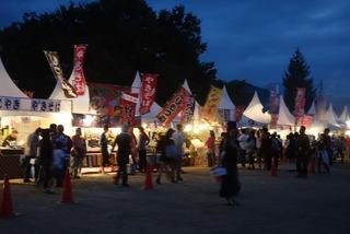 ぶどう祭り夜店