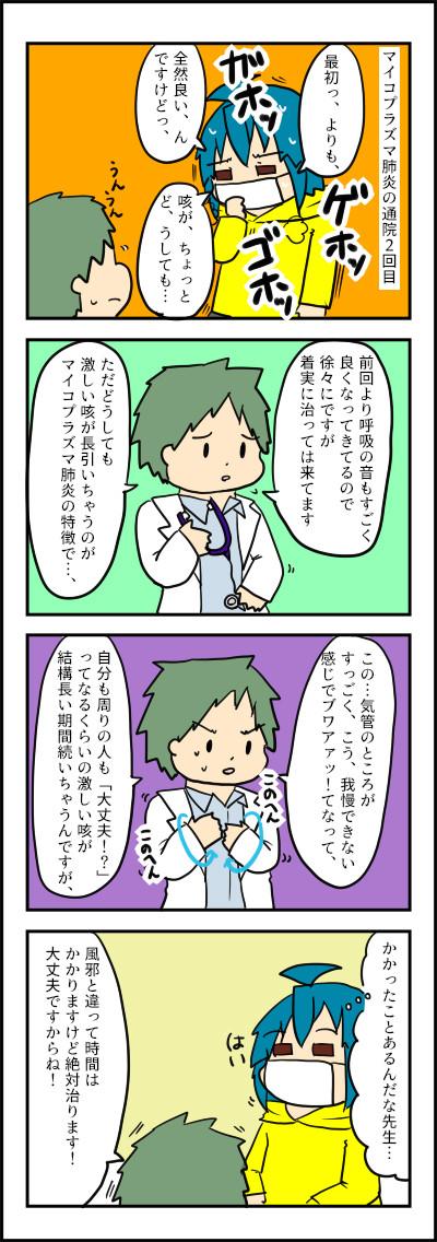 マイコプラズマ肺炎2