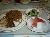 2007年4月:温泉の夕飯