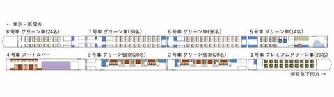 E261系見付図