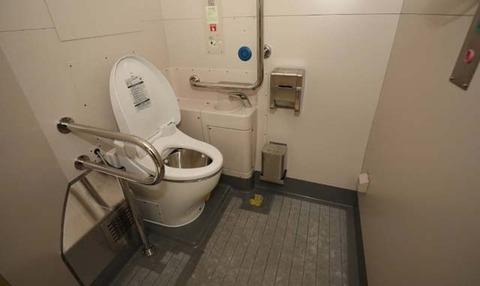 バリアフリー対応トイレのコピー
