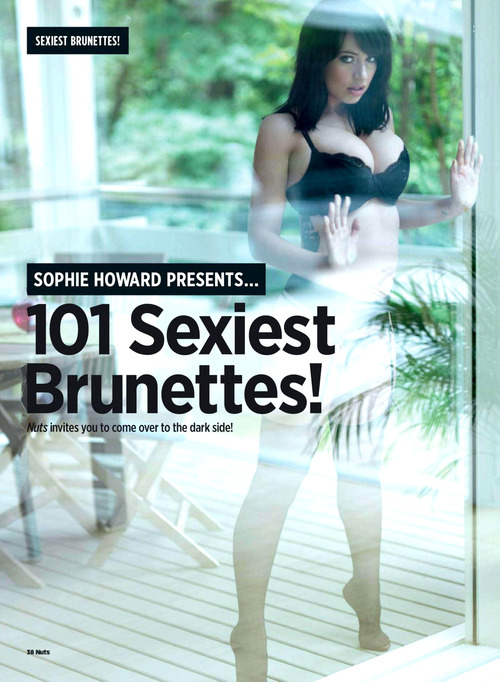 Sophie Howard - Topless - Nuts  October 2011