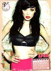 Vikki Blows Official 2011 Nude Calendar 05