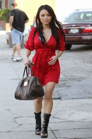 Tila Tequila  Cleavy Out & About in LA