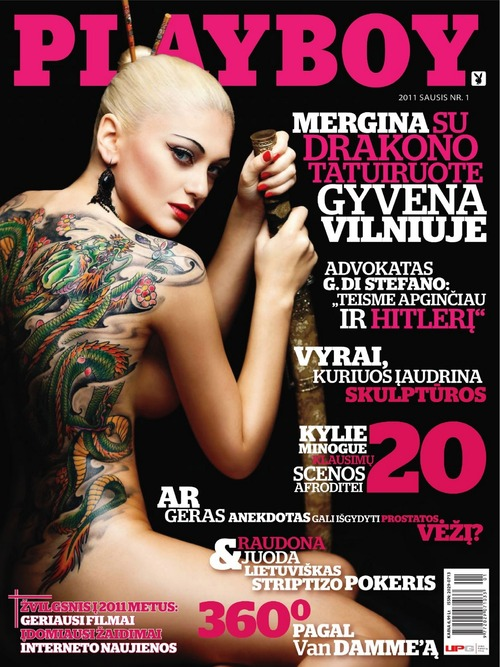 Julija Rogovina - Playboy Lithuania January 2011 (6)
