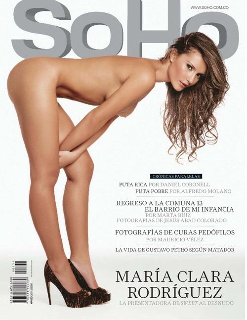 Maria Clara Rodriguez Topless - SOHO 01