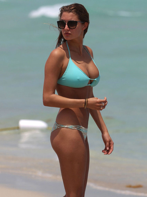 ALYSSA-ARCE-in-Bikini-on-the-Beach-in-Miami-1