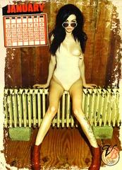 Vikki Blows Official 2011 Nude Calendar 02