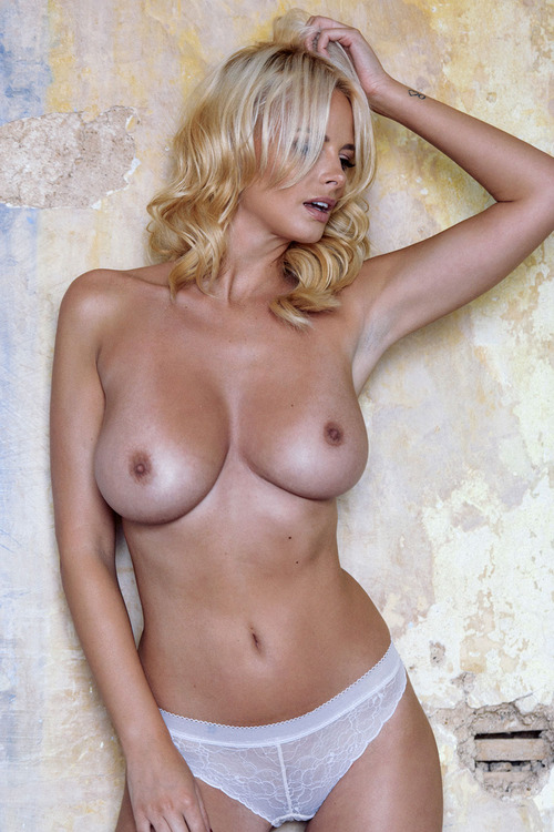 Rhian Sugden - Topless