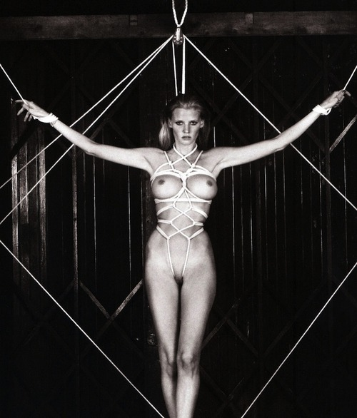 Lara Stone - Naked for Visionaire magazine #60