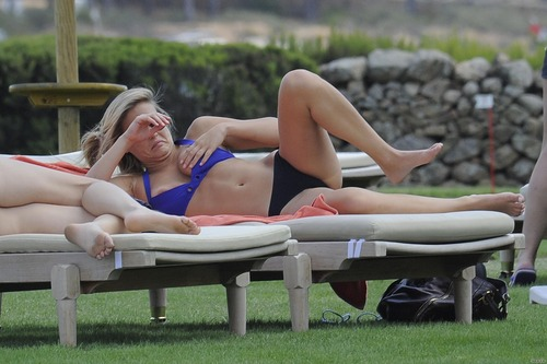 Bar Refaeli day 2 in BIKINI in Porto Cervo (5)