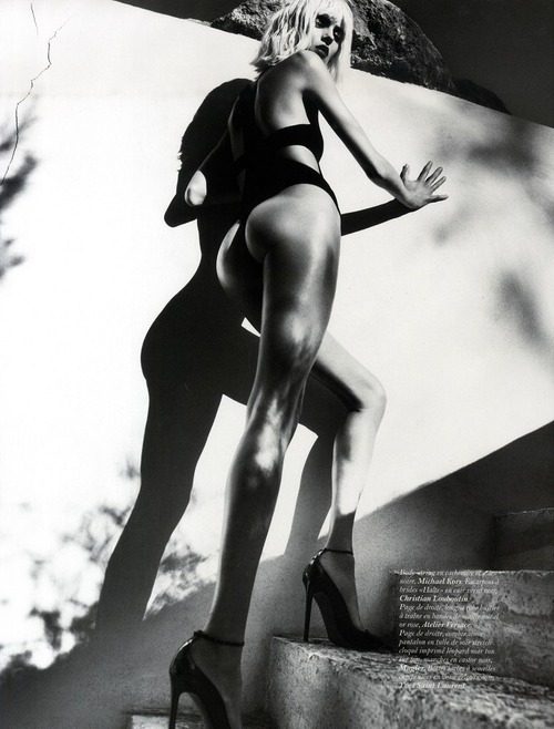 Anja Rubik - France Vogue Oct 2011
