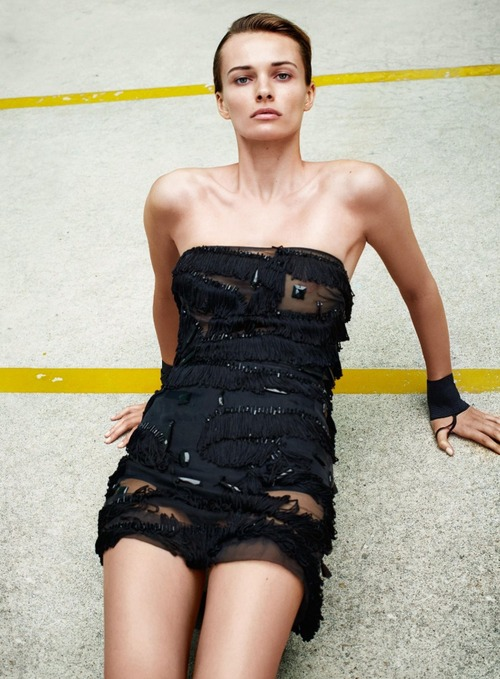 Edita Vilkeviciute - Flair (Italy) May 2015 (5)