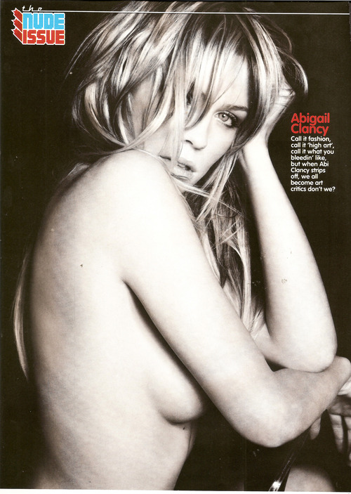 Abigail clancy - Loaded Magazine UK June 2010 (1)