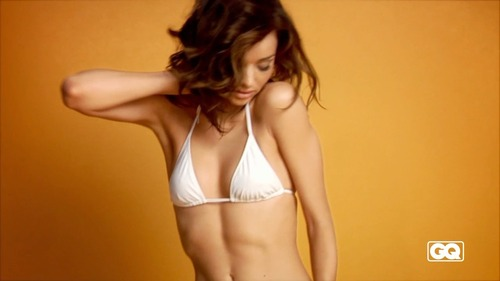 Miranda Kerr - bikini & undies GQ Photoshoot