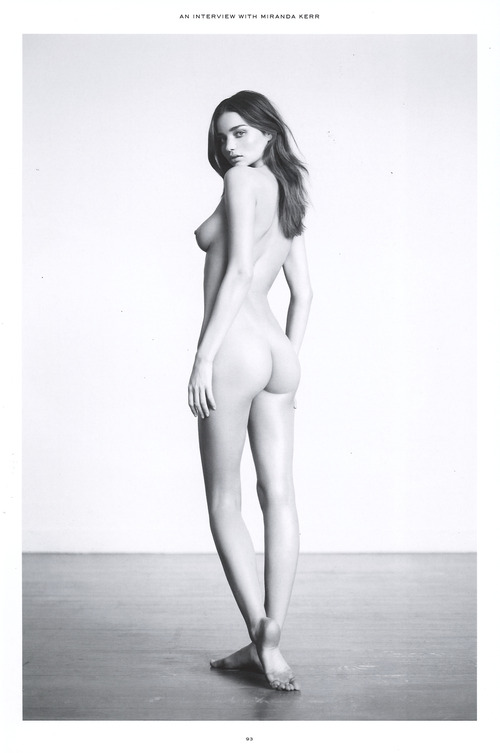 Miranda Kerr - Nude in Industrie Magazine