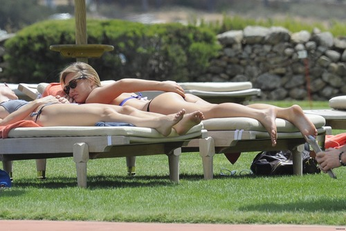 Bar Refaeli day 2 in BIKINI in Porto Cervo (8)