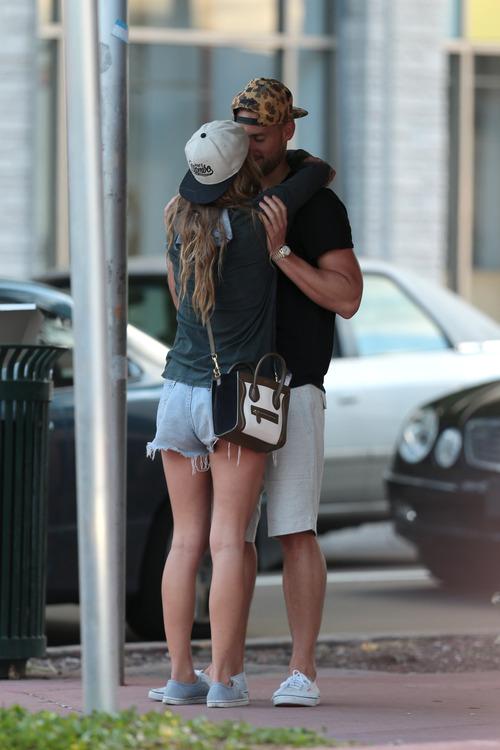 Nina Agdal & Boyfriend Reid Heidenry (40)