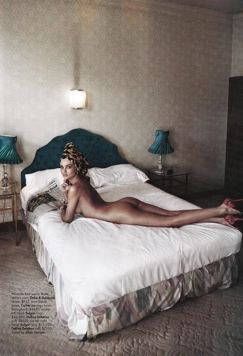 Miranda Kerr - Harper's Bazaar Australia November 2011 Nude