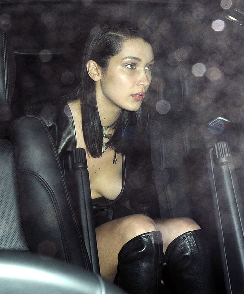 Bella Hadid - At Annabel's nightclub (11)