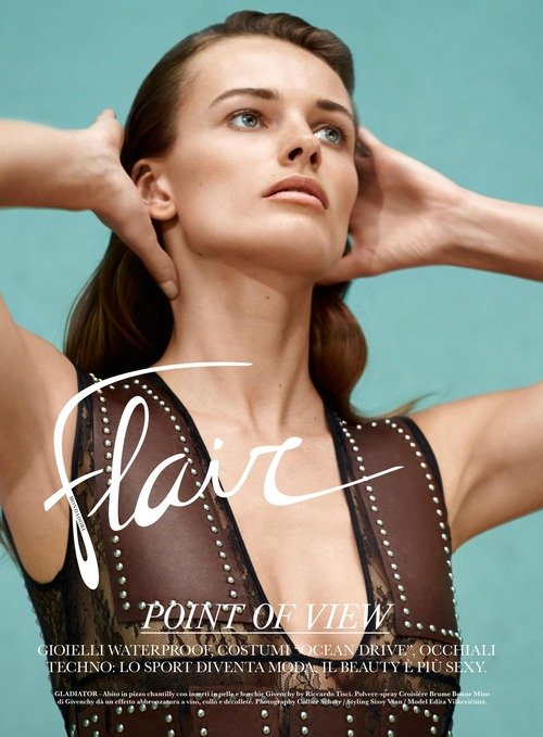 Edita Vilkeviciute - Flair (Italy) May 2015 (1)