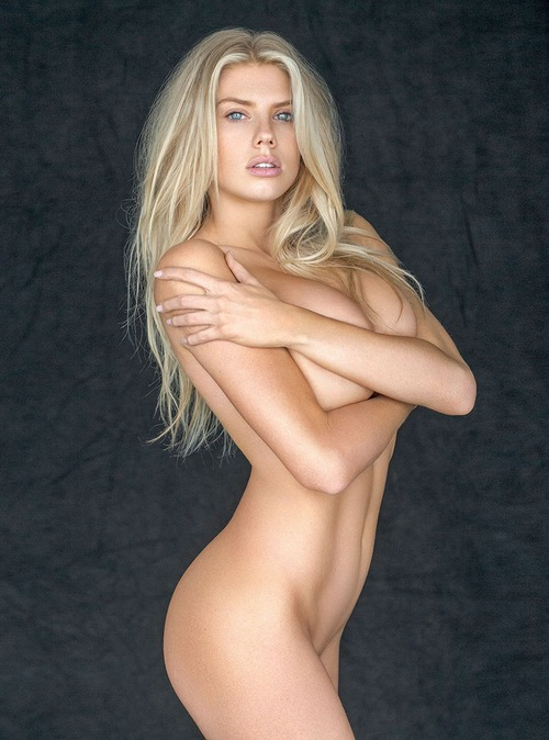 Charlotte McKinney - naked (covered) photo by Jack Guy