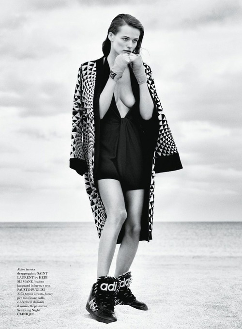 Edita Vilkeviciute - Flair (Italy) May 2015 (16)