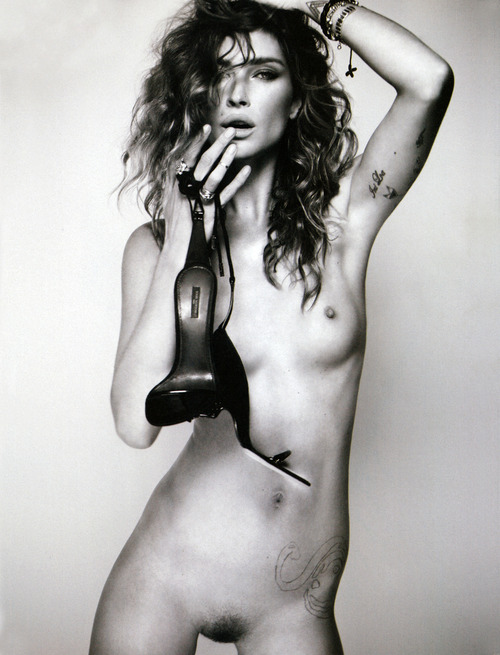 Erin Wasson - I-D Spring 2011 Full Frontal Nude
