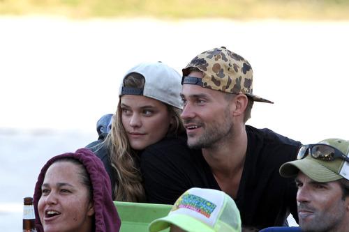 Nina Agdal & Boyfriend Reid Heidenry (12)