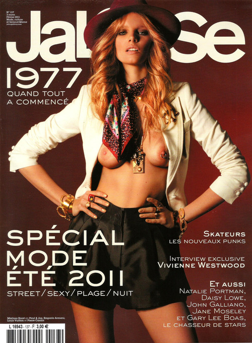 Marloes Horst - Jalouse France February 2011