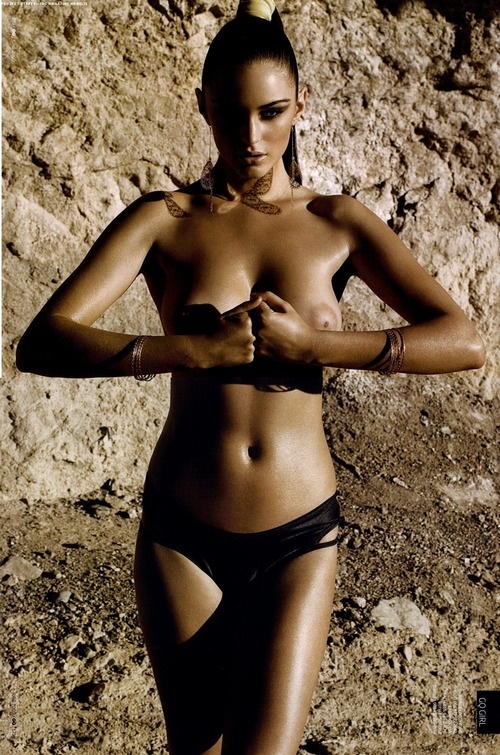 Lauren Budd - GQ June 2009