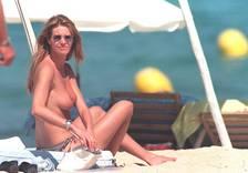 Elle MacPherson - Topless Beach Candids from circa 1994 a5
