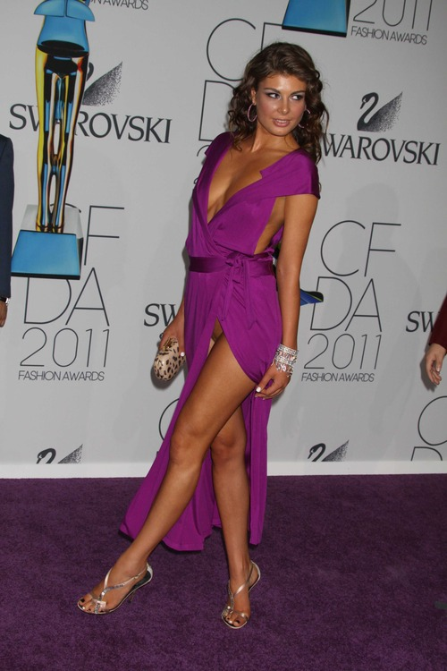 Angela Martini - No Panty @ CFDA Awards 2011