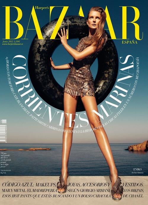 Eniko Mihalik - Harpers Bazaar (Spain) June 2012 01