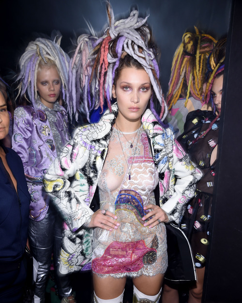 Bella Hadid Marc Jacobs Show September 15003