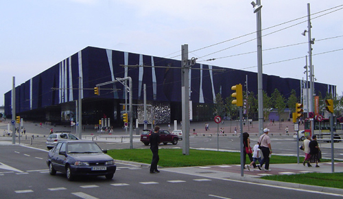 Forum 2004 Building and Plaza