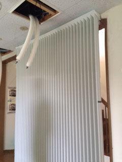 T電研究所_エコ暖クール3_天井から配管