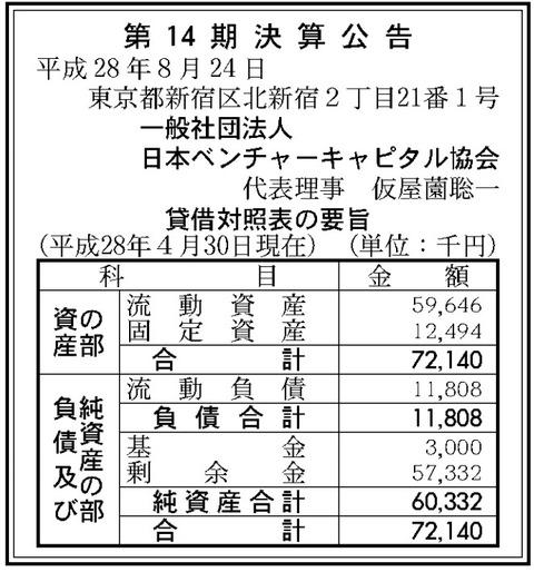 一般社団法人日本ベンチャーキャピタル協会