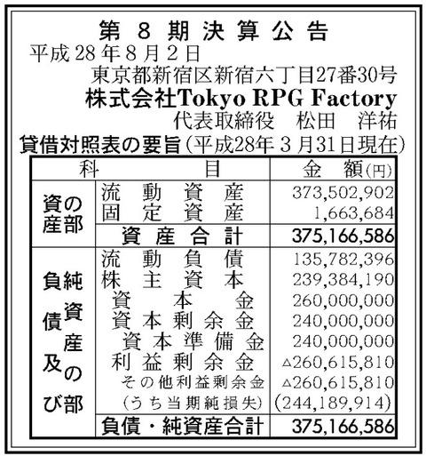 株式会社Tokyo RPG Factory