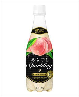 桃の天然水あ・ら・ご・しスパークリング