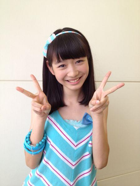 GALLERIA-アイドル動画・画像館   岡本夏美 | おはガールちゅ!ちゅ!ちゅ!  のリーダーでニコモ、岡本夏美の画像