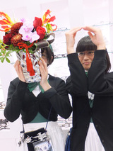 お花もらった!!!