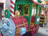 発射前の列車2