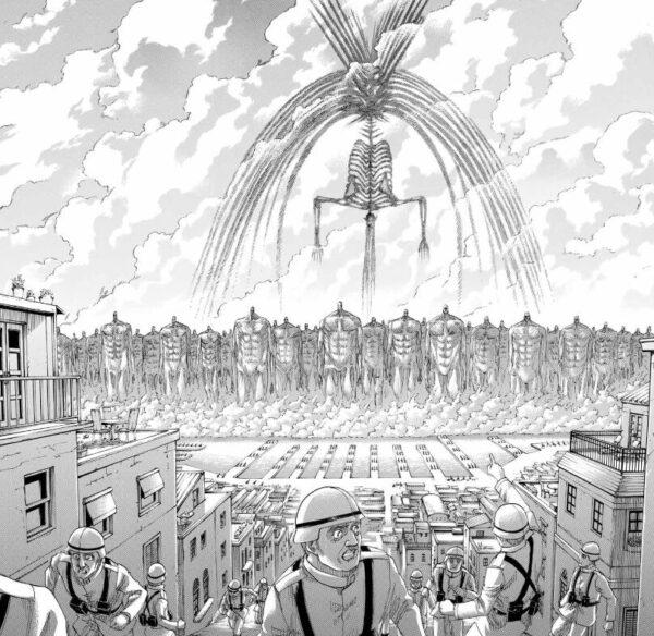 【ネタバレ】進撃の巨人 俺達のエレンが人類滅亡を始めたwww【漫画】