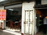 成都駅近くの食堂