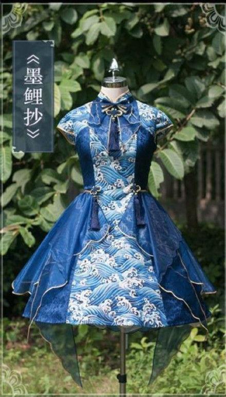 中華風ロリィタqi Lolita中国風とロリィタの融合中国の反応