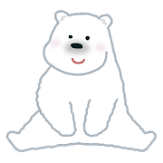 animal_shirokuma_hokkyokuguma いらすとや