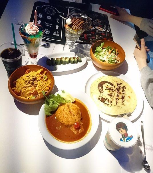 ふじさきさんとガンダムカフェ (8)